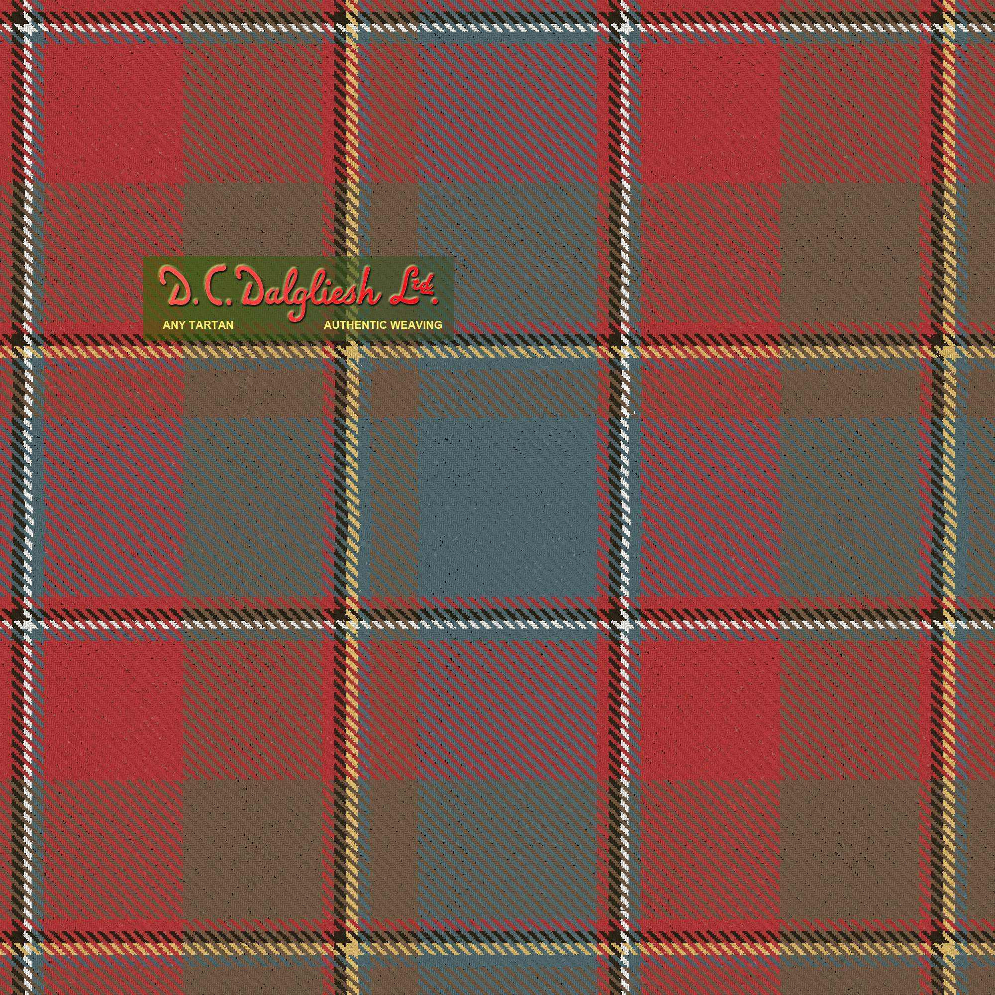 Quebec Plaid du (Reproduction Colours)