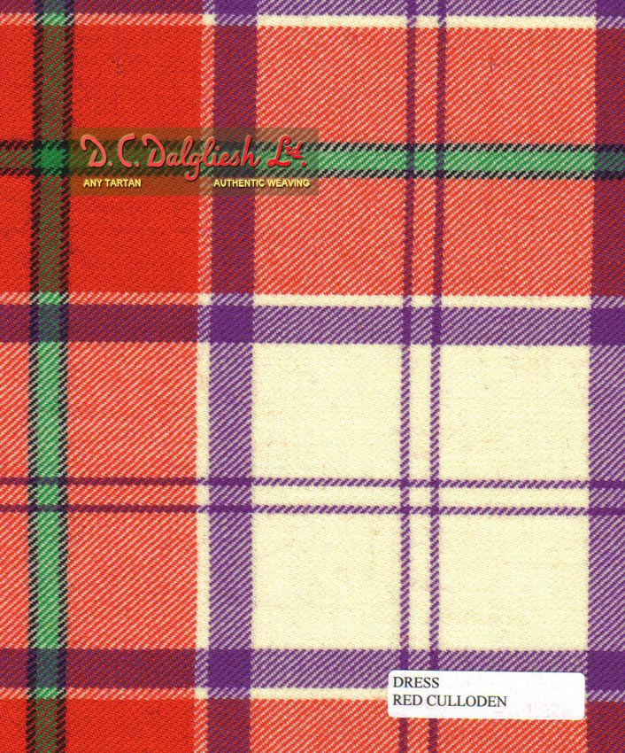 Culloden Dress; Red (Dance Colours)