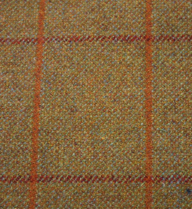 Tweed Fabric Patterns Herringbone Striped Plaid Tweeds