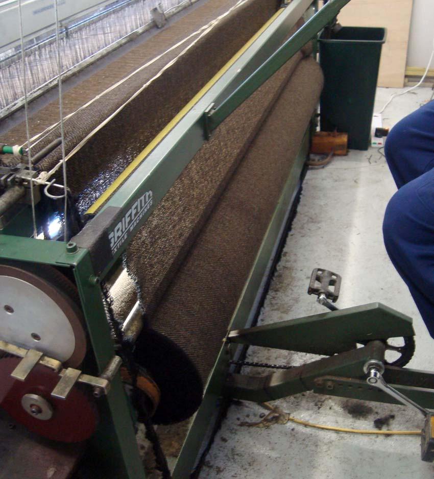 Weaver's pedal loom