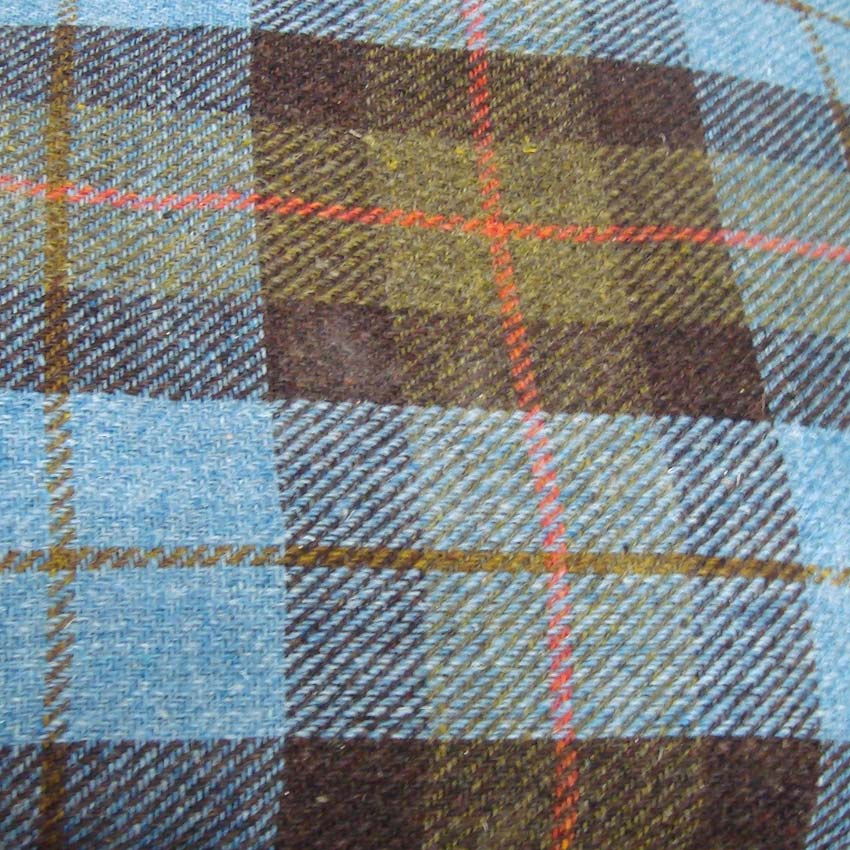 Scottish tweed fabric